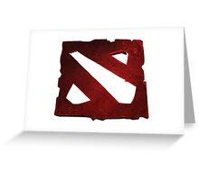 DOTA 2 - Logo Greeting Card