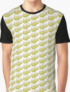 Yellow VW Camper Graphic T-Shirt