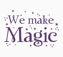 We make magic in purple One Piece - Short Sleeve