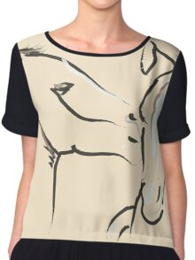 Horse- Together 6 Chiffon Top