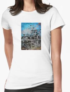 Buildings VII Womens Fitted T-Shirt