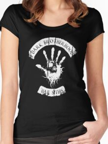 DARK BROTHERHOOD Women's Fitted Scoop T-Shirt