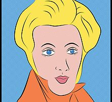 Soren Kierkegaard (Ben Day Dots / Lichtenstein Pop Art Style) by taudalpoi