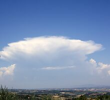 Cloud over Tuscany by Doppelbock