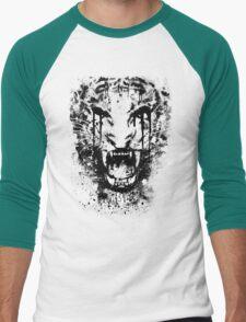 Burning Ire Crop Men's Baseball ¾ T-Shirt