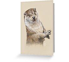 Otterly Fabulous, Dahling! Greeting Card