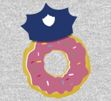 police hat with a doughnut One Piece - Short Sleeve