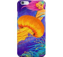 Jellyfish Mermaid! iPhone Case/Skin