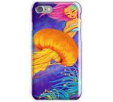 Jellyfish Mermaid! iPhone Case/Skin