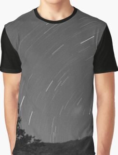 time lapse night sky Graphic T-Shirt
