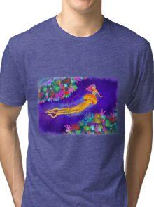 Jellyfish Mermaid! Tri-blend T-Shirt