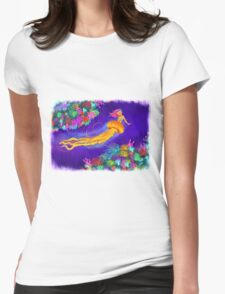 Jellyfish Mermaid! Womens Fitted T-Shirt