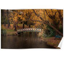 Lake Daylesford, Victoria Poster