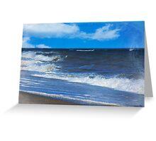 Atlantic Surf Greeting Card