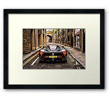 Ferrari LaFerrari Grigio Titanio Framed Print