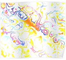 colorful abstract 23 Poster