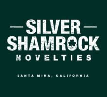 Silver Shamrock Novelties (worn look) by KRDesign