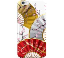 Japanese fans iPhone Case/Skin