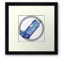 Asthmattic Framed Print