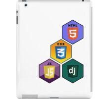 html5 css javascript django programming language stickers iPad Case/Skin