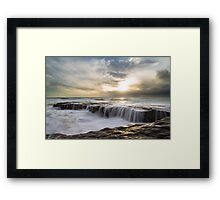 Fishermans Rock Revisited  Framed Print