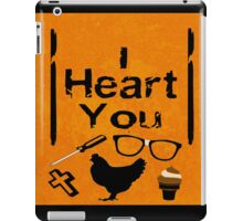 I Heart You - OITNB iPad Case/Skin