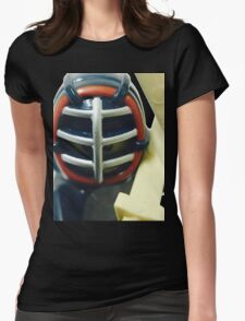The Kendo Fighter Womens Fitted T-Shirt