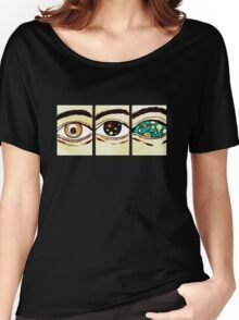 Eyes on Trip Women's Relaxed Fit T-Shirt