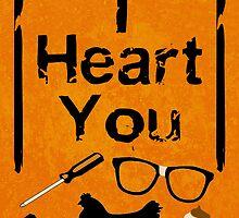 I Heart You - OITNB by HannahByrne