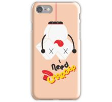 Type Character W iPhone Case/Skin