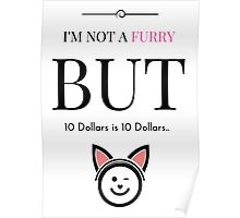 I'm Not a Furry... Poster
