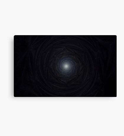 Sirius Star Light Mandala Canvas Print