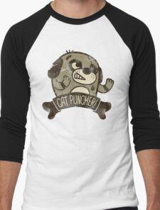 Cat Puncher! Men's Baseball ¾ T-Shirt