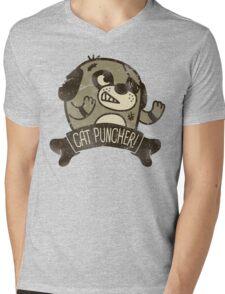 Cat Puncher! Mens V-Neck T-Shirt