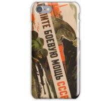 Soviet War Poster iPhone Case/Skin