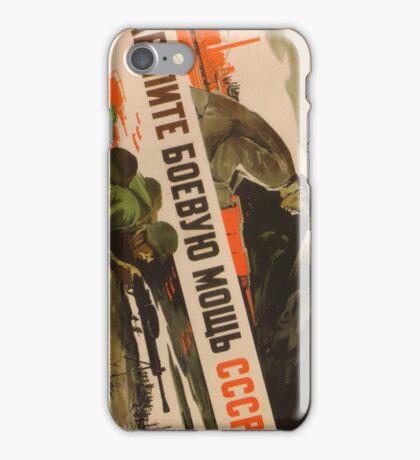 Soviet War Poster iPhone Case/Skin