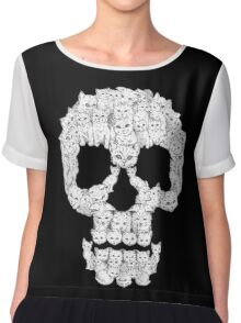 Skull Are for Pussies EDR 878  Chiffon Top