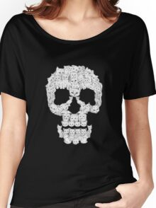 Skull Are for Pussies EDR 878  Women's Relaxed Fit T-Shirt