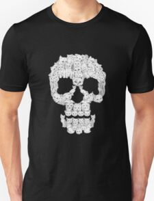 Skull Are for Pussies EDR 878  Unisex T-Shirt