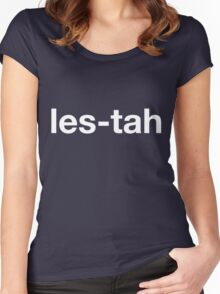 LES-TAH Women's Fitted Scoop T-Shirt