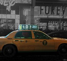Teen Wolf - Times Square Taxi by janeyyy