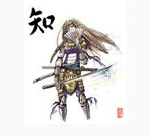 Zelda in Samurai armor with Japanese Calligraphy Unisex T-Shirt