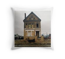 Euclid Street, Detroit Throw Pillow