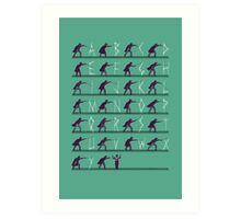 From A to Zorro Art Print