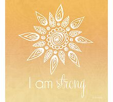 I AM Strong Photographic Print