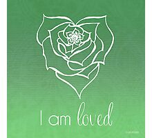 I AM Loved Photographic Print