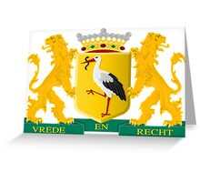 Coat of Arms of Hague Greeting Card