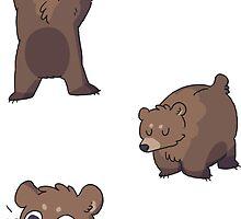 mini bears by Clair C