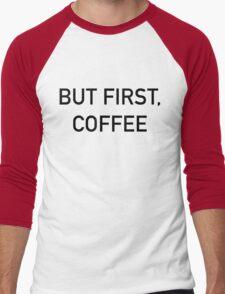 Coffee Men's Baseball ¾ T-Shirt