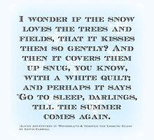 Alice in Wonderland Quote by mrsthornton